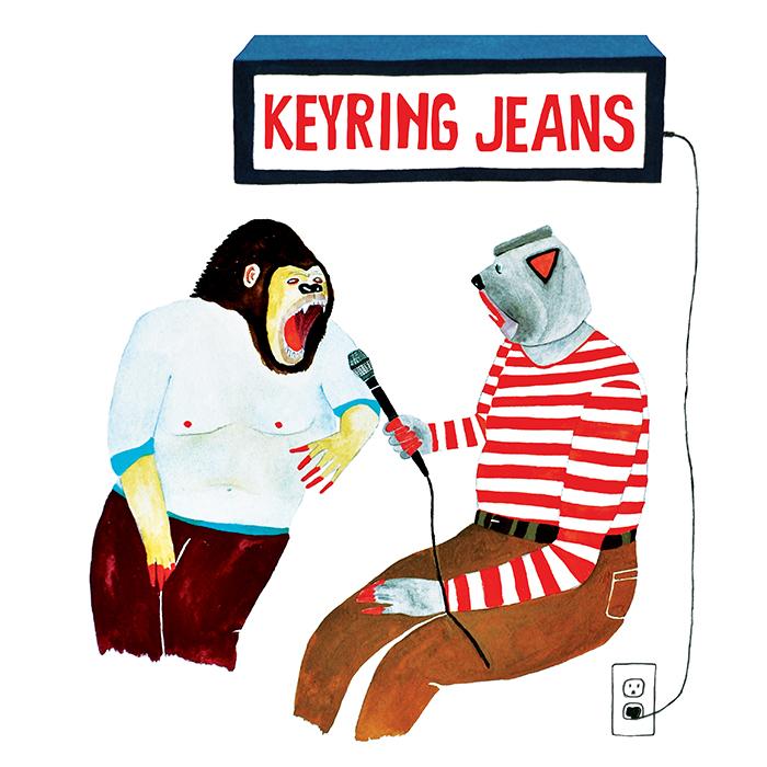 Keyring Jeans (AUS)